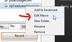 edit macros