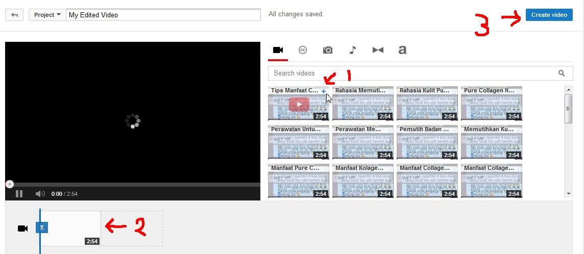 Auto Multiple Upload Video di Youtube - 0813-2112-8490 (Tsel